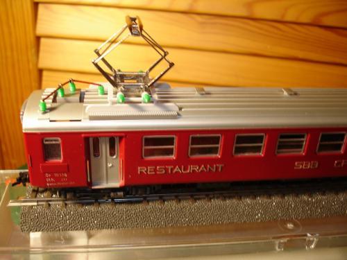 FLEISCHMANN HO 5131 SBB CFF Restaurant ep. IV