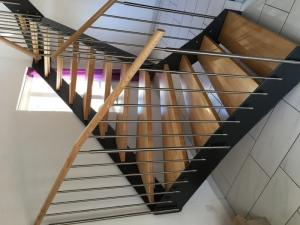 Escaliér dìnterieur hêtre massif