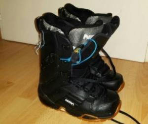 boots de neige noir