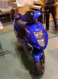 CPI Aragon bleu cylindrée 125