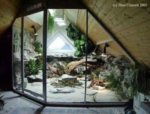 Fabrication terrarium, aquarium, decor