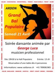 Danse: bal populaire à Ardon