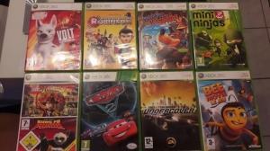 A vendre 9 jeux pour Xbox 360