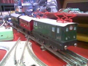 Ancien train électrique en bon état