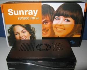 Sunray 800 HDse Blanc www.memoshop.ch