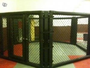 cage mma free fight pancrace ring boxe