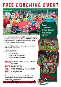 Free Football Coaching Event – Sunday 2-04-17