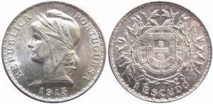 1 Escudos - R. Portuguesa 1915