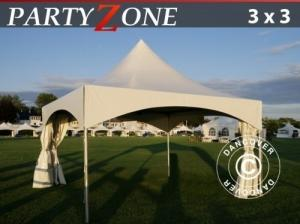 Pagodenzelt PartyZone 3x3 m aus PVC