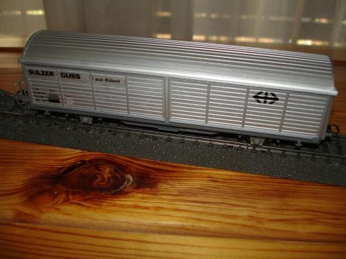 Roco HO 46173 wagon marchandise CFF Hbis Sulzer Guss
