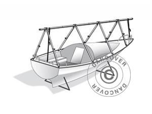 Decksgestell für Bootsabdeckplane, NoTool, 7 m