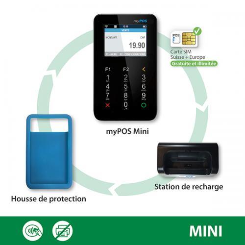 Terminal de paiement myPOS Mini dès 129.- HT