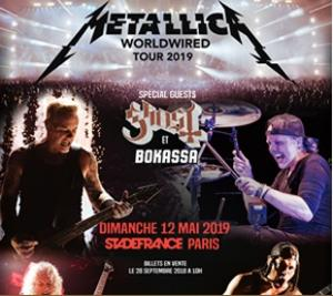 2 billets METALLICA STADE DE FRANCE