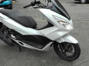 Scooter pcx blanche modele  2008