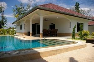 Thailande villa avec piscine