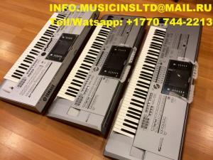 Yamaha Genos, Tyros, Korg Pa4X, Motif XF8, Roland Fantom