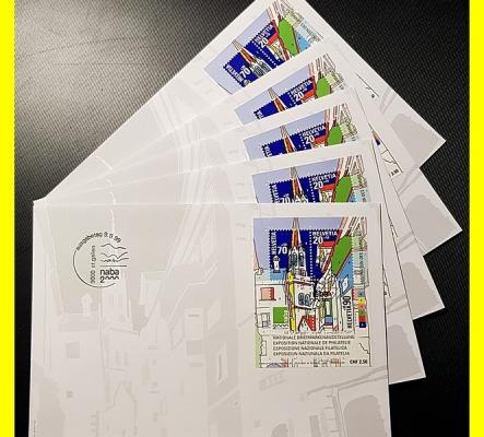 5 enveloppes NABA 2000