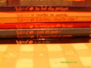 Vends lot de 7 BD Titeuf.