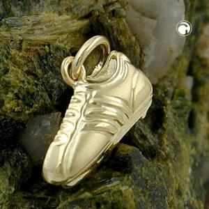 Pendentif Or chaussures football