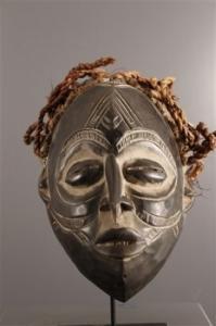 Beau masque Chokwe original