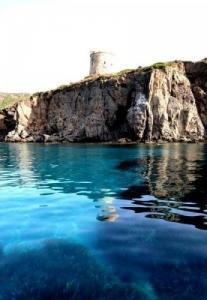 studio dans côte sud-ouest de Sardaigne