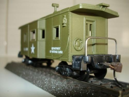 Model Power HO 99165 US Army Caboose