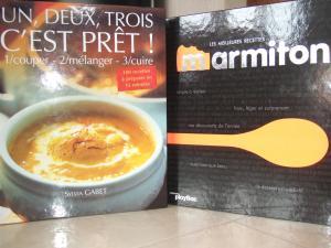 3 beaux livres + 1coffret