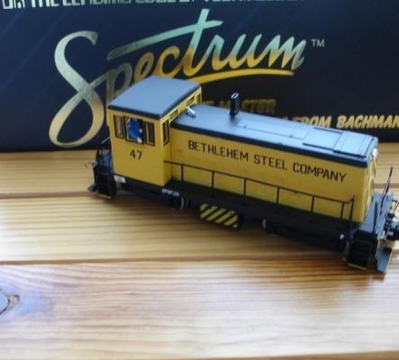 Bachmann HO Spectrum GE 70-Ton Bethlehem Diesel Steel 47