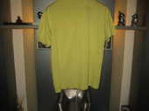 Tee-Shirt Lacoste Jaune Fluo / Liquidation