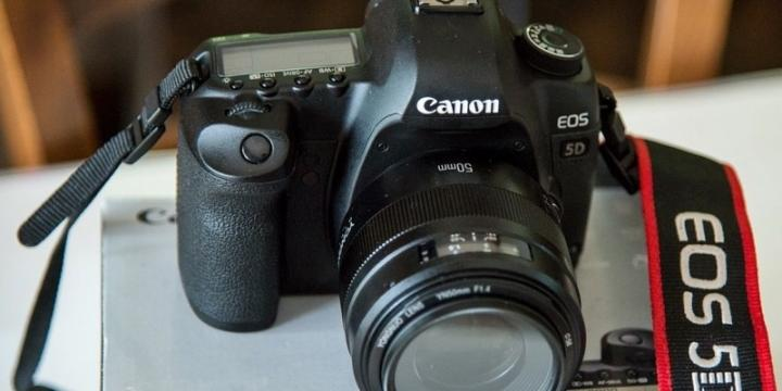 Canon EOS 5D Mark II.