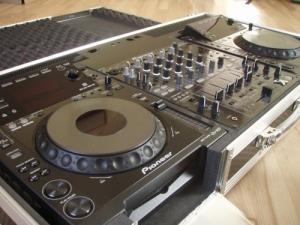 Pioneer CDJ 900 & 2x DJM 800 & Flight Ca