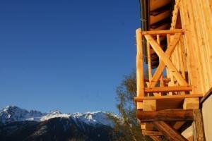 Charpente en Suisse Romande:BOIS Debout