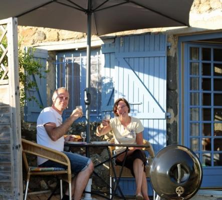 Charmant gite 2p en pleine nature avec jolie vue en Ardèche