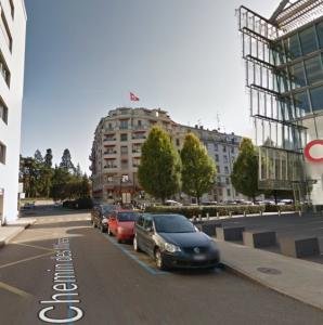 Place de parking sis Chemin des Mines, 1202 Genève