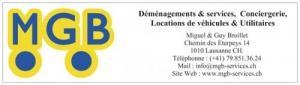 Déménagements & Services, Conciergerie,
