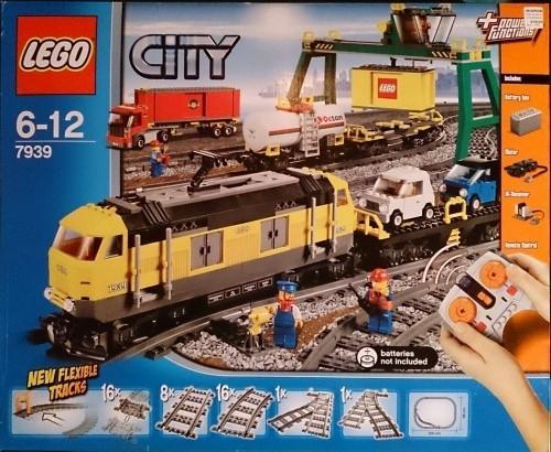 LEGO CITY 7939 set train neuf et scellé