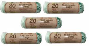 99 sacs de déchets alimentaires biodégradables