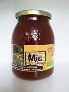 Miel de fleurs sauvages Bio 1kg