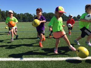 Camps de football pour enfants à Genève cet automne