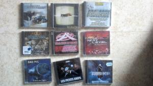 DIVERS CD RAP FRANCAIS