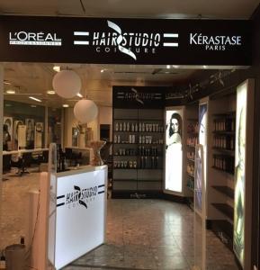 Sièges, Tablettes, Fauteuils, Miroirs,Bacs (coiffure)