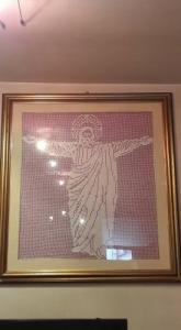 Tableau du Christ Redempteur