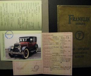 Franklin 1927
