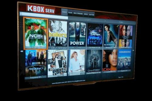 Séries et Films à volonté avec la Kbox