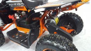 Quad enfants adolescents 110cc Predator  7 pouces