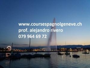 leçons d'espagnol sur genève 079 964 69 72, cours privés
