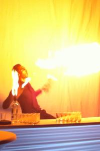 Animation mariage, barman jongleur