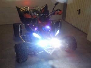 Moto Quad Yamaha Raptor 700