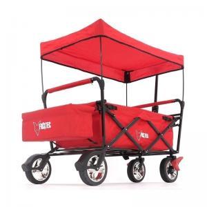 FUXTEC Chariot Rouge avec Toit ouvrant FX-CT500