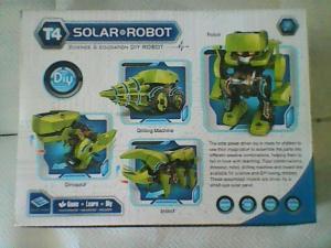 Robot énergie solaire à assembler 3 en 1